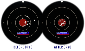 AR-15 Before and After Shots with Cryogenic Treatment
